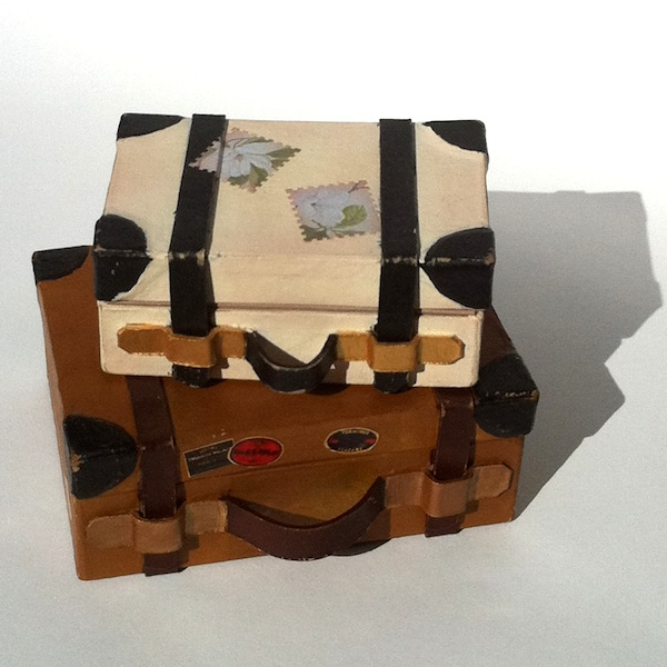 Mini Suitcase Memory Boxes Perfectly4med Artist At