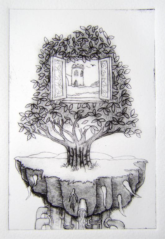 Print Term 3 Drypoint Perfectly4med Artist At