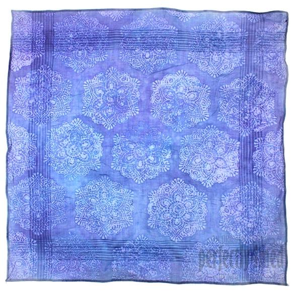 mandala faux batik  for creative expressions