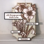 Winter Flower Plaque
