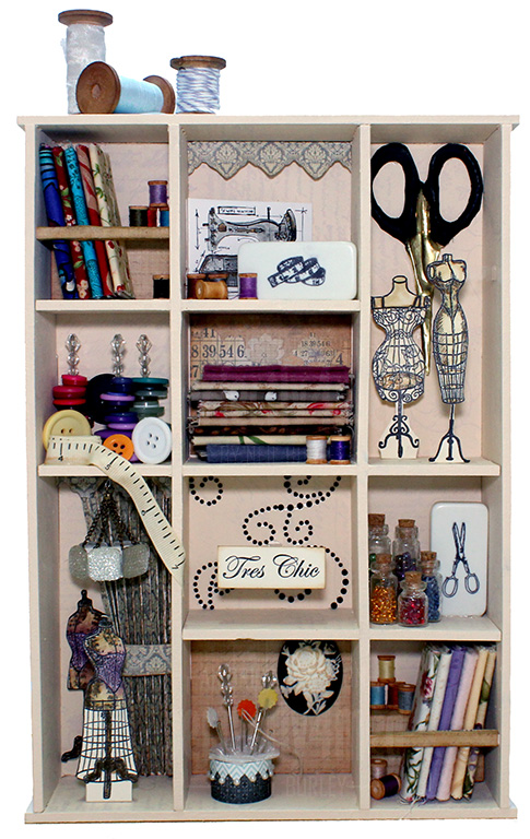 Sewing Room Assemblage