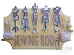 Sewing Room Door Plaque
